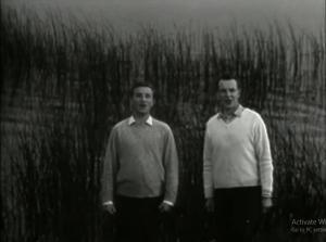 E. Kuodis ir J. Girijotas | sustabdyta vaizdo įrašo akimirka