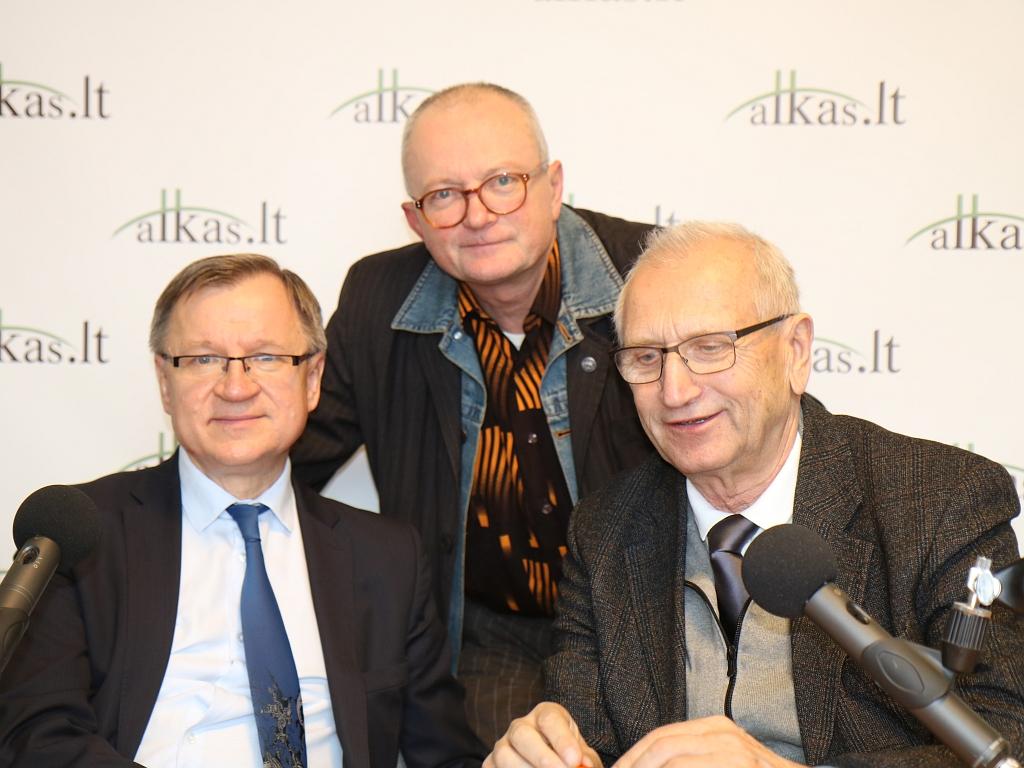 Egidijus Vareikis, Audrys Antanaitis ir Juozas Zykus | A. Sartanavičiaus nuotr.