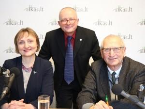 Virginija Vingrienė, Audrys Antanaitis ir Juozas Zykus | A. Sartanavičiaus nuotr.