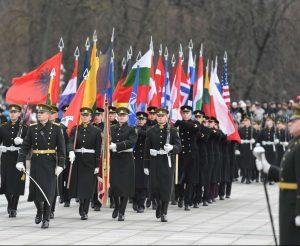 Paminėta Lietuvos kariuomenės diena ir kariuomenės atkūrimo 98-osios metinės | lrp.lt, R. Dačkaus nuotr.