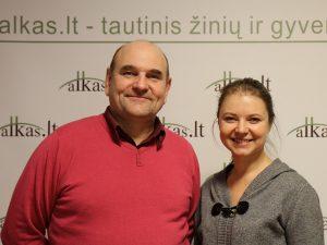 Gerimantas Statinis ir Dalia Smagurauskaitė   Alkas.lt nuotr.
