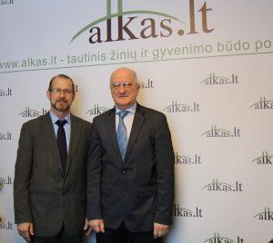 Ryšardas Burda ir Vytautas Juozas Šveikauskas | Alkas.lt nuotr.