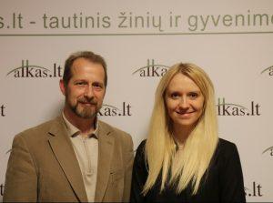 Ryšardas Burda ir Renata Saulytė | Alkas.lt nuotr.