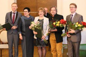 Užsienio lietuvių mokslininkų apdovanojimo ceremonijoja | Alkas.lt, A. Sartanavičiaus nuotr.