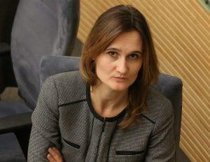 Viktorija Čmilytė-Nielsen | Alkas.lt, A. Sartanaviciaus nuotr.