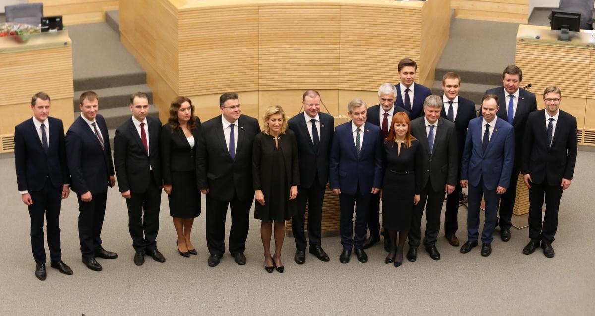 Naujieji ministrai | Alkas.lt, A. Sartanaviciaus nuotr.