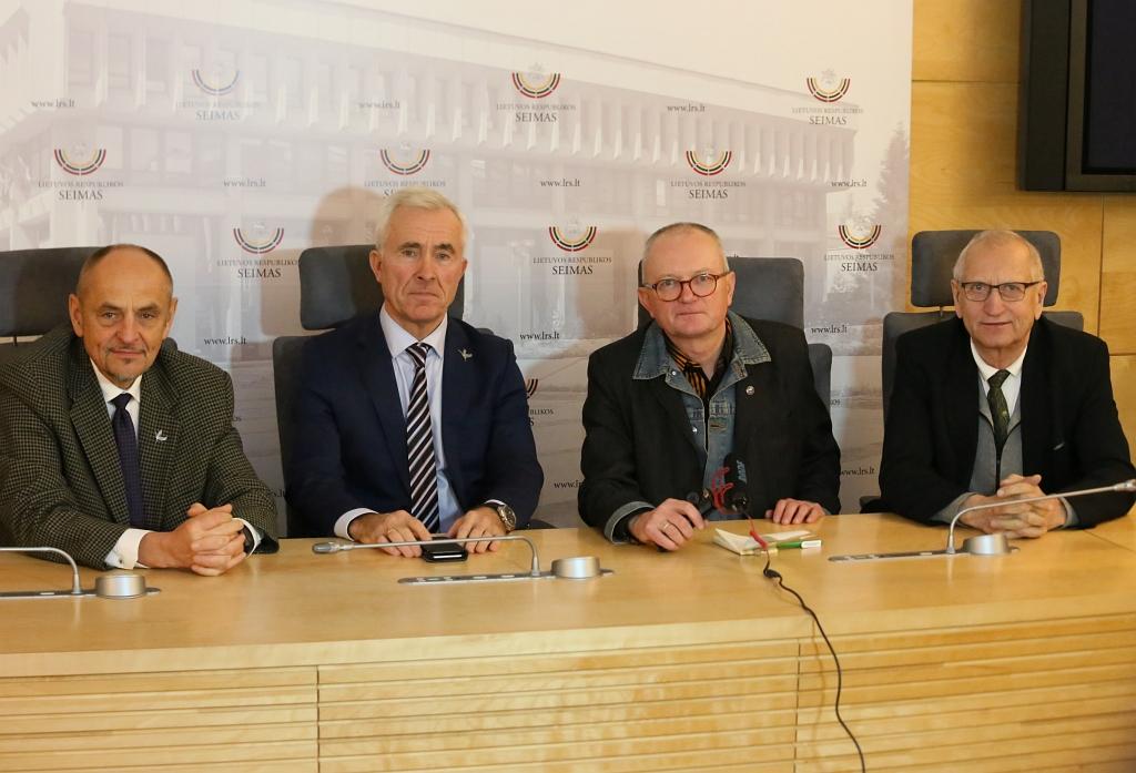 Algimantas Kirkutis, Dainius Kepenis, Audrys Antanaitis ir Juozas Zykus | Alkas.lt, A. Sartanaviciaus nuotr.