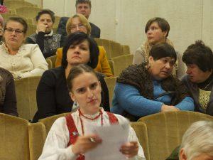 Aukštaičiai dalijosi patirtimi apie tautinės kultūros puoselėjimą bendruomenių gyvenime | Alkas.lt, J. Vaiškūno nuotr.