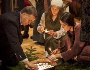 Romuviai švenčia Žiemos saulėgrįžą | rengėjų nuotr.