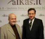 Gintaras Songaila ir Tomas Baranauskas | Alkas.lt nuotr.
