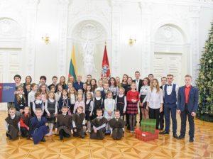 Svečiuose pas Prezidentę – užsienyje gyvenantys lietuvių vaikai | lrp.lt, R. Dačkaus nuotr.