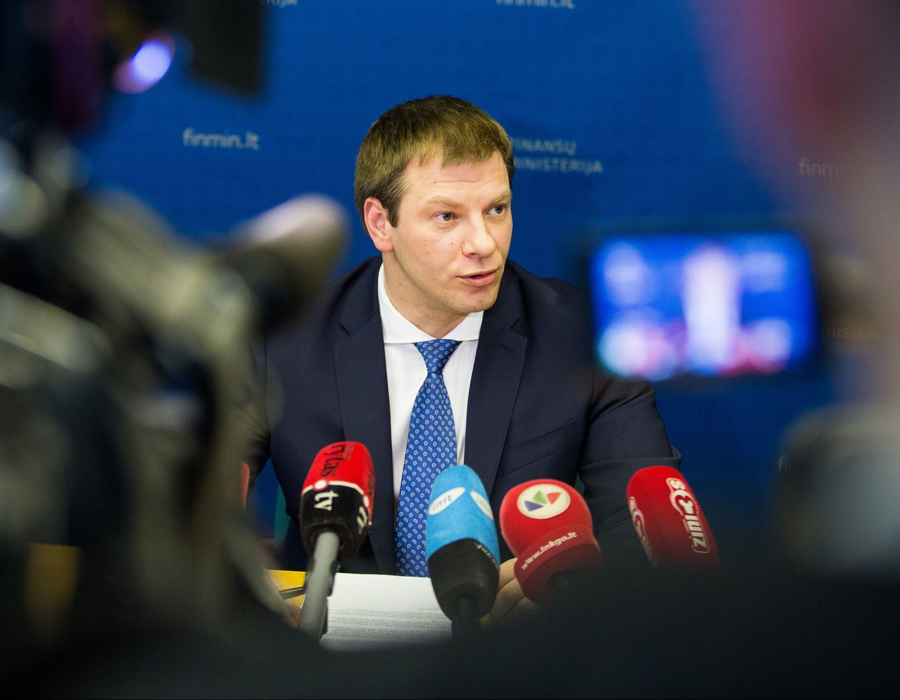 Finansų ministras Vilius Šapoka | finmin.lrv.lt nuotr.