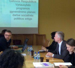 LVŽS komitetai pradėjo vyriausybės priemonių plano aptarimą | LVŽS nuotr.