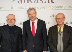 Audrys Antanaitis, Mindaugas Bastys ir Juozas Zykus | alkas.lt nuotr.