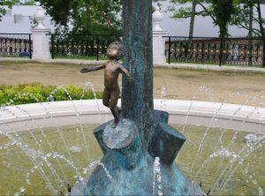 Ilzenbergo dvaro fontanas | ilzenbergas.lt nuotr.