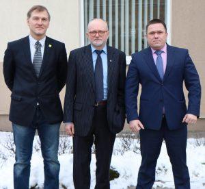 Ričardas Garuolis, Audrys Antanaitis, Gntaras Kondrackis   Alkas.lt, A. Sartanavičiaus nuotr.