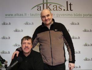 Gerimantas Statinis ir Gintaras Zavadckis | Alkas.lt nuotr.