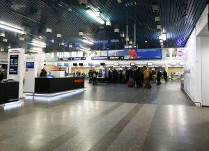 Vilniaus oro uosto išvykimo salė | Alkas.lt, A. Sartanavičiaus nuotr.