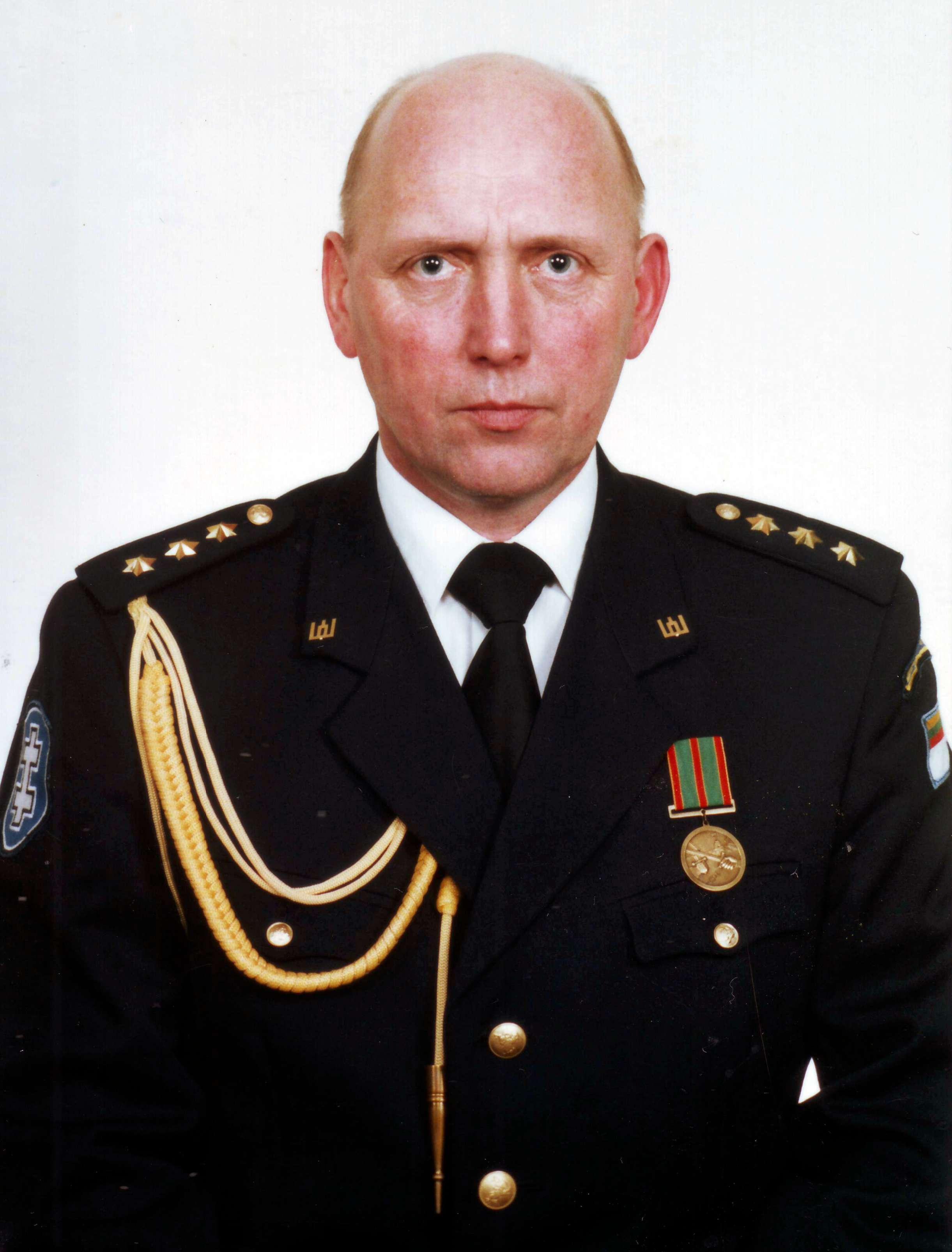 Dimisijos kapitonas Algirdas Kiburys, 1998 m | asmeninė nuotr.