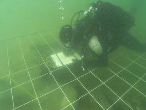 Nuskendusio laivo prie Šventosios tyrinėjimai 2009 m.   BRIAI nuotr.