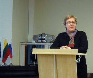 Doc. dr. Nijolė Starkauskaitė | briai.ku.lt nuotr.