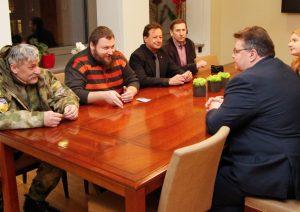Laisvės gynėjai iš Ukrainos | urm.lt nuotr.