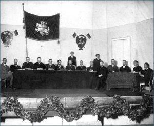 Vilniaus Lietuvių konferencija 1917 m. | Wikipedia.org nuotr.