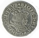 Žygimanto Senojo portretas jo laikų denaro monetoje | Wikipedia.org nuotr.