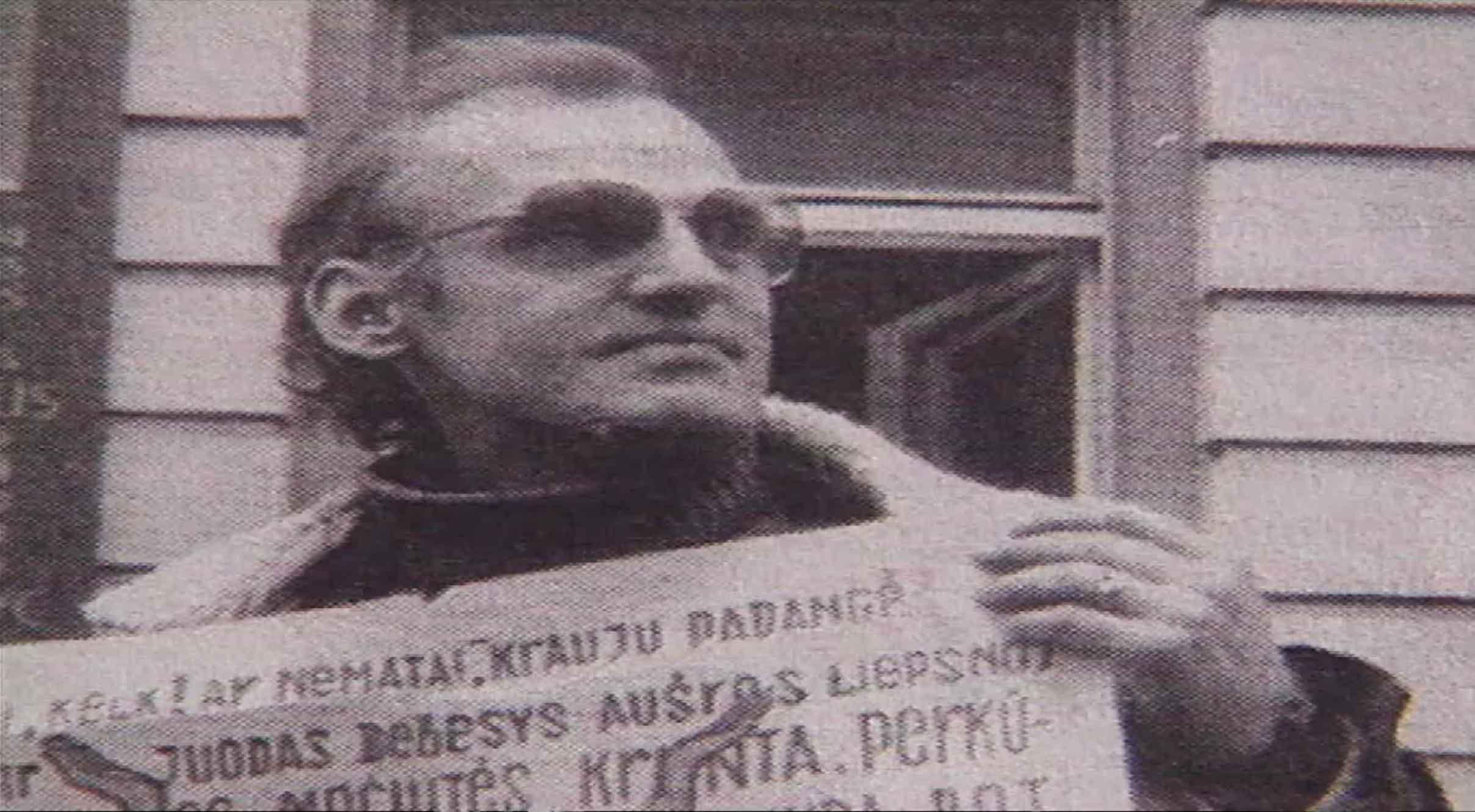Laisvės kovotojas Algimantas Andreika (1950-2000) | LRT stop kadras