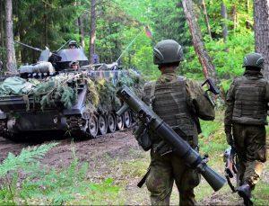 Apie 400 Lietuvos karių 2017 m. budės NATO greitojo reagavimo pajėgose | kam.lt, P. Babilo nuotr.