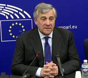Antonijas Tajanis – išrinktas Europos Parlamento pirmininku | Alaks.lt nuotr.