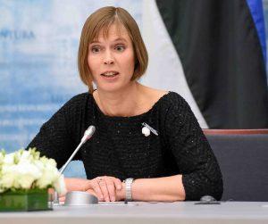 Estijos prezidentė Kersti Kaljulaid | lrp.lt nuotr.