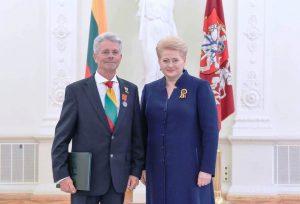 Gasparas Genzbigelis ir Dalia Grybauskaitė | asmeninė nuotr.