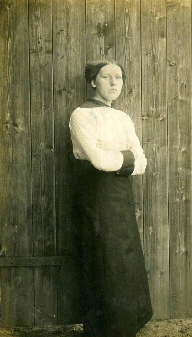 I. Simonaitytė Angerburge (Lenkija). 1915 m. | LLMA archyvo nuotr.