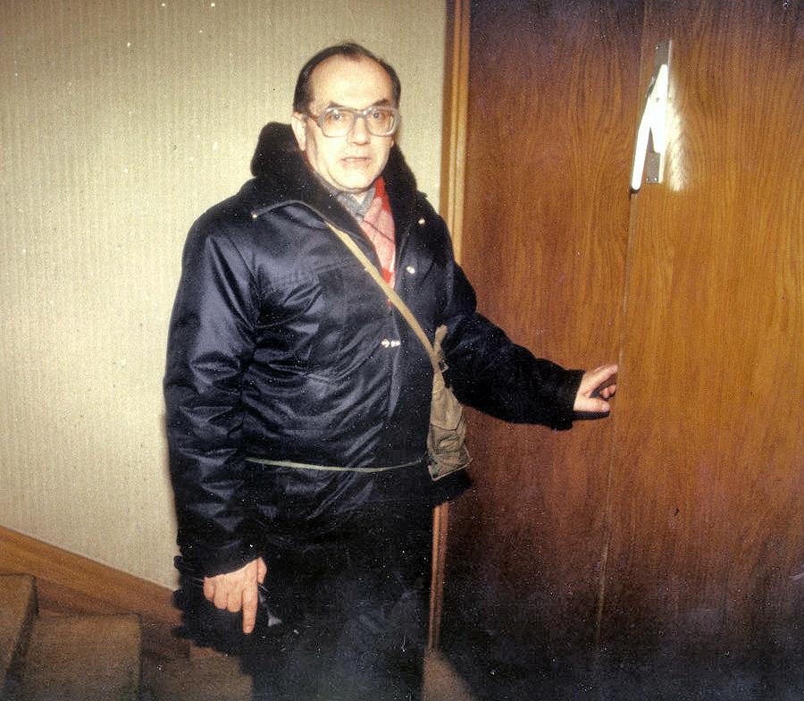 Leonas Milčius 1991-01-13 AT rūmuose | asmeninė nuotr.