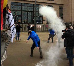 Briuselyje prieš ES biurokratų veiksmus protestuoja ir pienininkai iš Lietuvos | rengėjų nuotr.