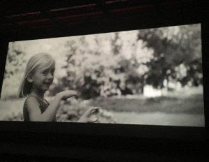 Akimirka iš filmo pristatymo