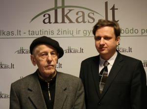 Aloyzas Stasiulevičius ir Tomas Baranauskas | Alkas.lt nuotr.
