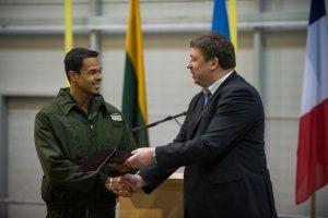 NATO oro policijos misiją perėmė nyderlandų kariai | A. Pliadžio nuotr.