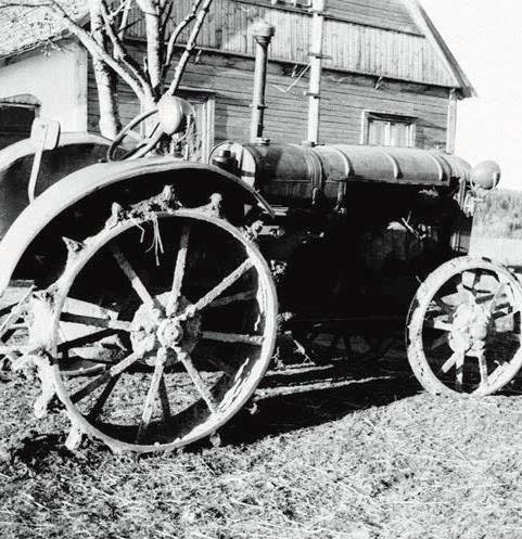 Traktorius | R. Ozolo nuotr.