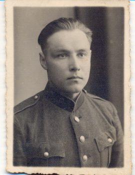 Tigro rinktinės štabo Žvalgybos skyriaus, vėliau štabo viršininkas Adolfas Grigonis-Paberžis | VSA nuotr.