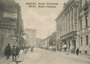 Vilniaus pirklių istorija. I. Bunimovičiaus namas Basanavičiaus g. 5 | LMAVB RSS fondo nuotr.