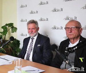 Audrys Antanaitis, Algirdas Sysas ir Juozas Zykus | alkas.lt nuotr.