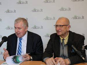 Arvydas Anušauskas ir Juozas Zykus | alkas.lt nuotr.