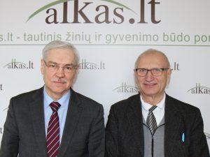 Zigmantas Balčytis ir Juozas Zykus | alkas.lt nuotr.
