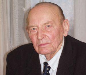 Buvęs partizanas ir Sibiro lagerių kalinys dimisijos kapitonas Bronius Juospaitis-Direktorius | B. Vertelkos nuotr.