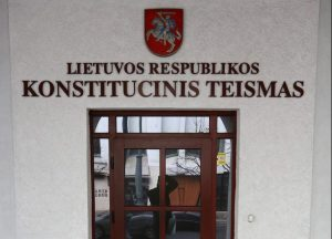 Konstitucinis teismas | Alkas.lt, A. Sartanavičiaus nuotr.