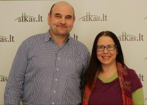 Gerimantas Statinis ir Žydronė Lukšytė | Alkas.lt nuotr.