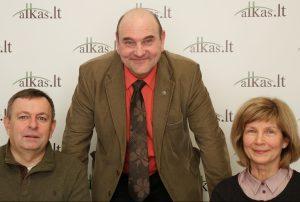 Vilius Navickas, Gerimantas Statinis ir Jolanta Navickienė | Alkas.lt nuotr.