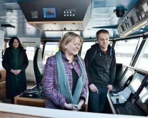 JAV ambasadore Lietuvoje susitikime laive_rengeju nuotr